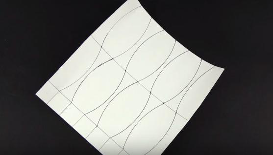 Cách xếp lọ hoa giấy theo phong cách Origami - bước 1