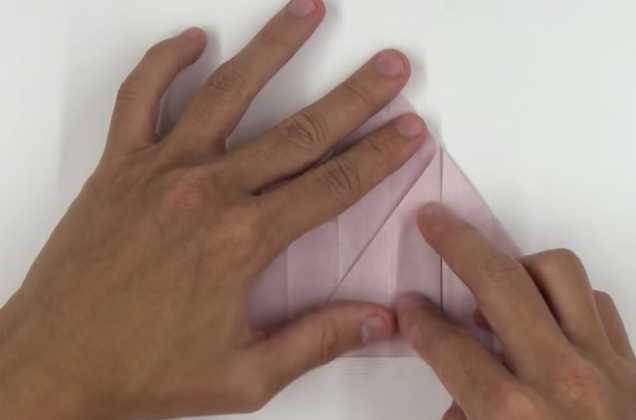 Hoa hồng giấy Origami kiểu mới - bước 2