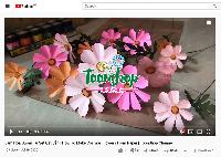 Hướng dẫn làm hoa bướm từ set cắt sẵn