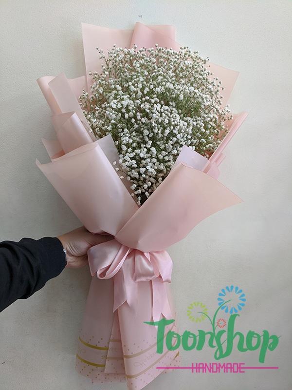 Bó hoa baby Em Về Tinh Khôi 01