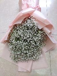 Bó hoa baby Em Về Tinh Khôi 04