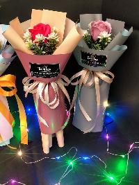 Bó hoa hồng sáp 1 bông