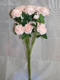 Cành hồng 2 bông 1 nụ màu hồng 01