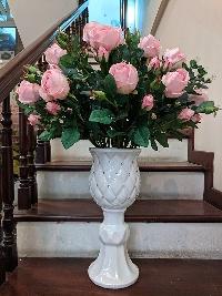 Chậu hoa hồng Như Ý 01