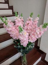 Lọ hoa phi yến hồng 10 cành 02