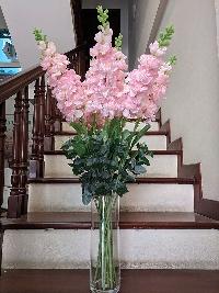 Lọ hoa phi yến hồng 10 cành 03